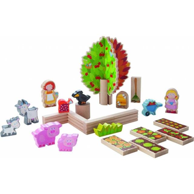 Obrázek produktu Dřevěná zahrádka se zvířátky