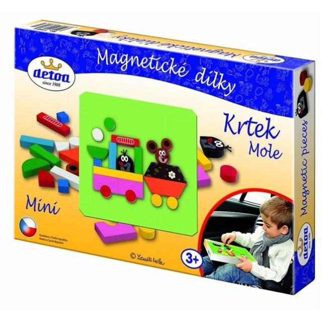 Obrázek produktu Magnetické dílky mini Krtek