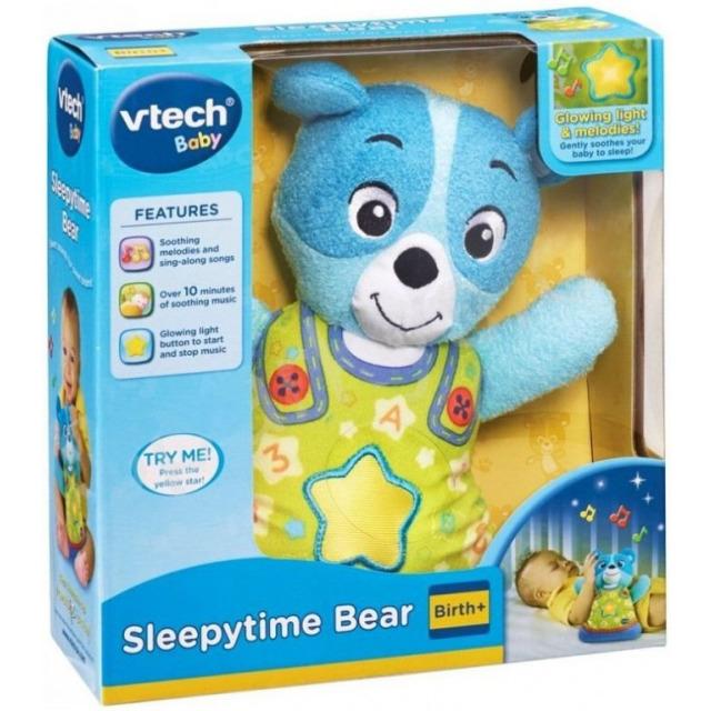 Obrázek produktu V-tech Usínáček medvídek modrý