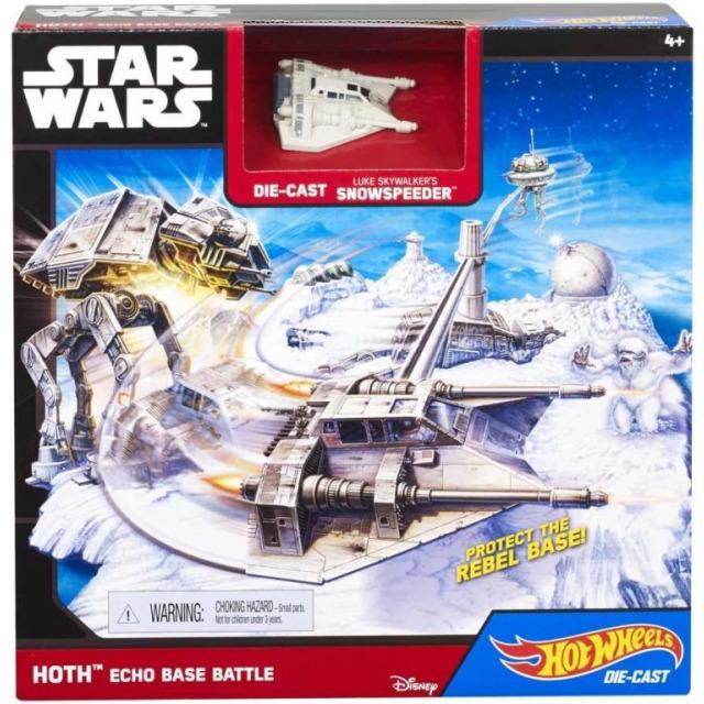 Obrázek produktu Hot Wheels SW Snowspeeder - Bitva na planetě Echo, Mattel CGN34