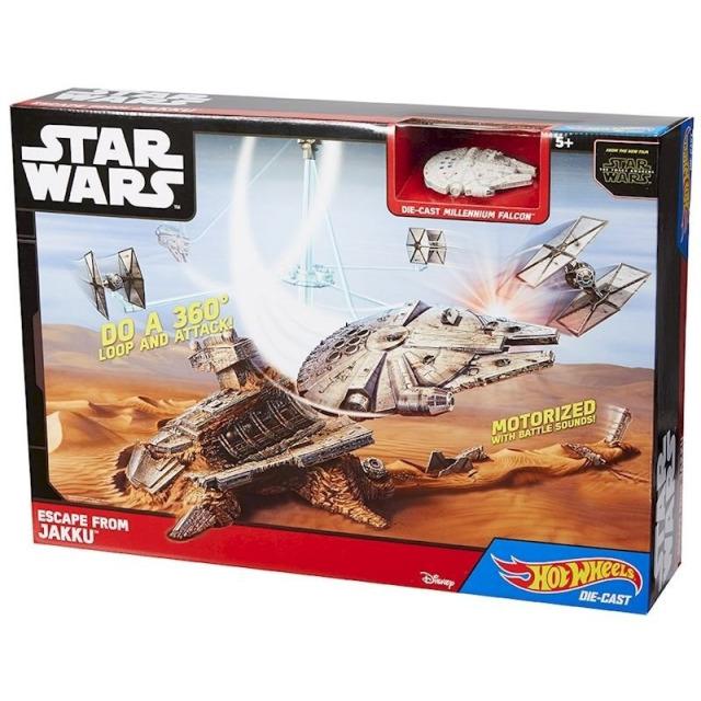 Obrázek produktu Hot Wheels SW Millenium Falcon - Síla se probouzí, Mattel CGN32