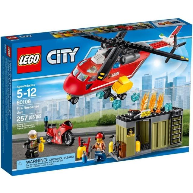 Obrázek produktu LEGO CITY 60108 Hasičská zásahová jednotka