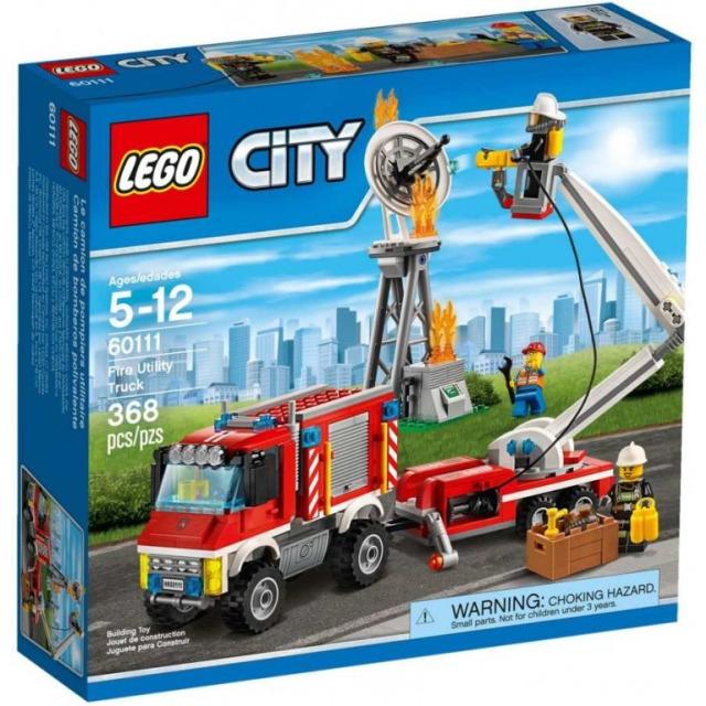 Obrázek produktu LEGO CITY 60111 Zásahové hasičské auto