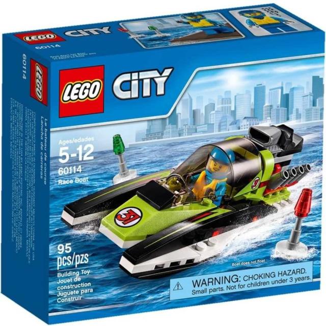 Obrázek produktu LEGO CITY 60114 Závodní člun