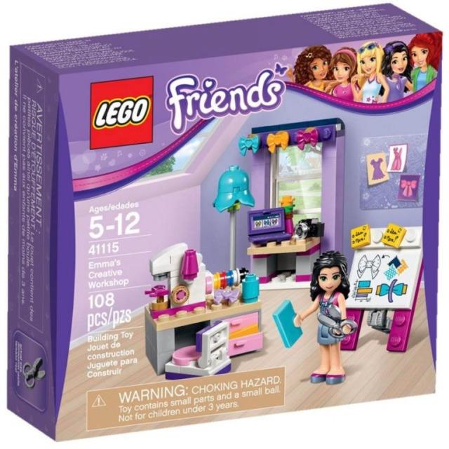 Obrázek produktu LEGO FRIENDS 41115 Emma a její tvůrčí dílna