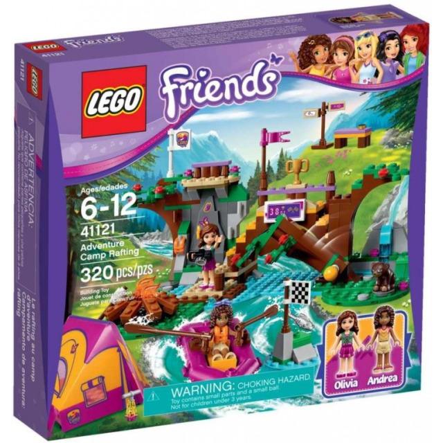 Obrázek produktu LEGO FRIENDS 41121 Dobrodružný tábor - jízda na divoké vodě