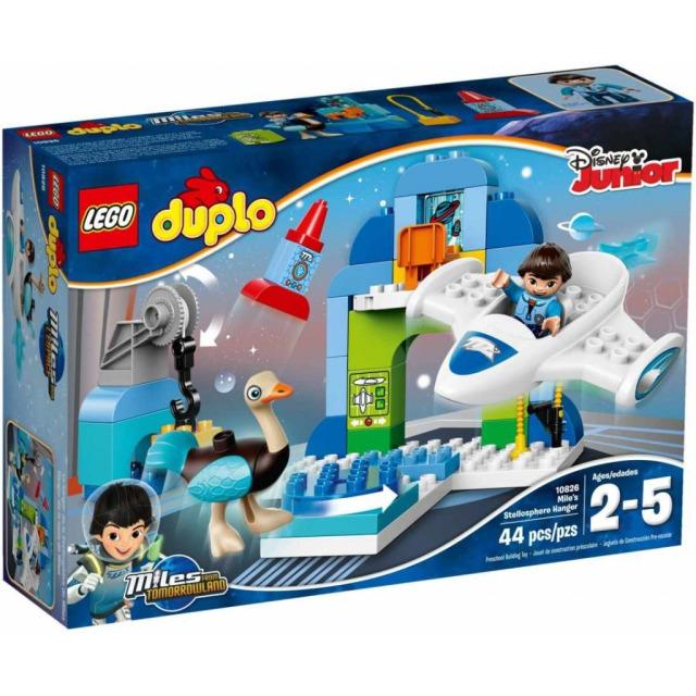 Obrázek produktu LEGO DUPLO 10826 Milesův hangár pro jeho vesmírnou loď Stellu