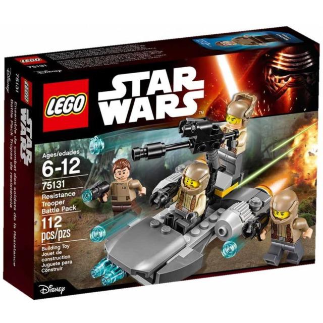 Obrázek produktu LEGO Star Wars 75131 Bitevní balíček Odporu
