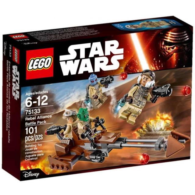 Obrázek produktu LEGO Star Wars 75133 Bitevní balíček Povstalců