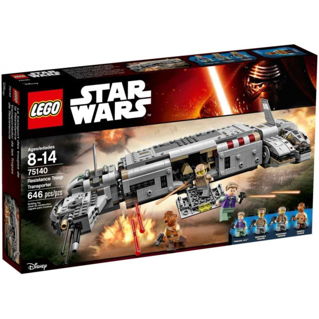 Obrázek produktu LEGO Star Wars 75140 Resistance Troop Transport