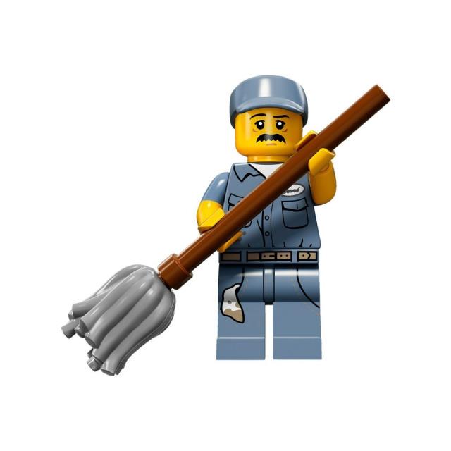 Obrázek produktu LEGO 71011 Minifigurka Školník