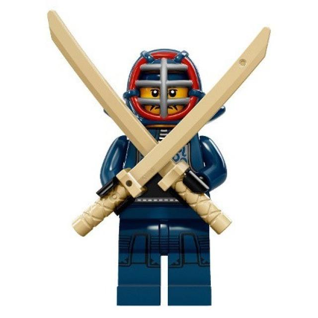 Obrázek produktu LEGO 71011 Minifigurka Kendo bojovník