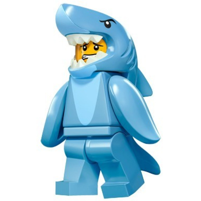 Obrázek produktu LEGO 71011 Minifigurka Žralok kostým