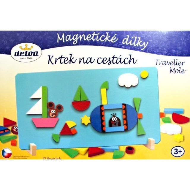 Obrázek produktu Magnetické dílky Krtek na cestách