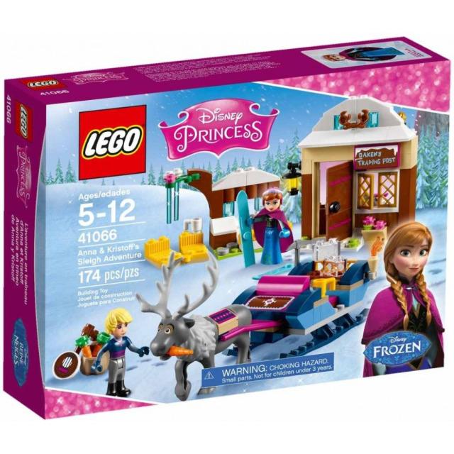 Obrázek produktu LEGO Disney 41066 Dobrodružství na saních s Annou a Kristoffem