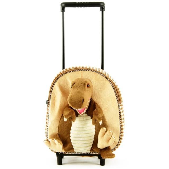 Obrázek produktu Dětský cestovní kufřík na kolečkách Dinosuarus
