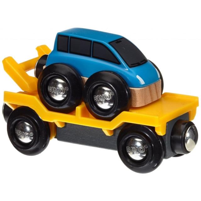 Obrázek produktu BRIO 33577 Přívěs na přepravu aut