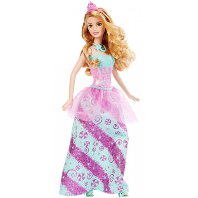 Obrázek produktu Barbie princezna bonbónová, Mattel DHM54