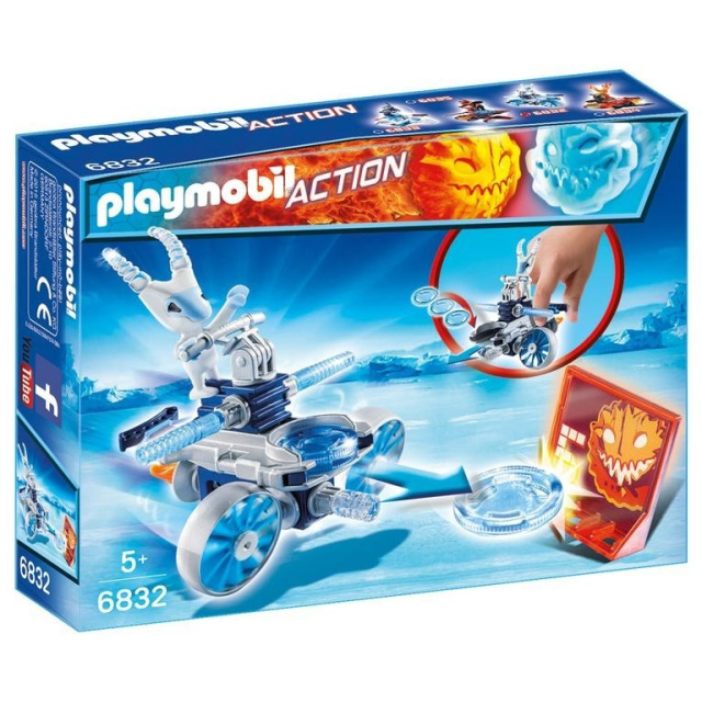 Obrázek produktu Playmobil 6832 Frosty s letajícími disky