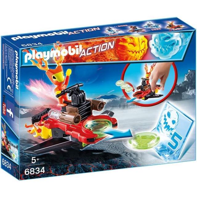 Obrázek produktu Playmobil 6834 Sparky s letajícími disky