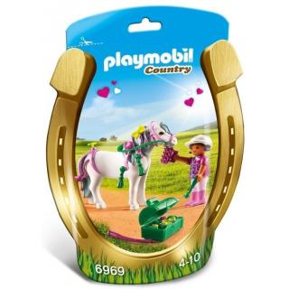 """Obrázek 1 produktu Playmobil 6969 Zdobení poníků """"Srdíčko"""""""