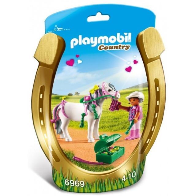 """Obrázek produktu Playmobil 6969 Zdobení poníků """"Srdíčko"""""""