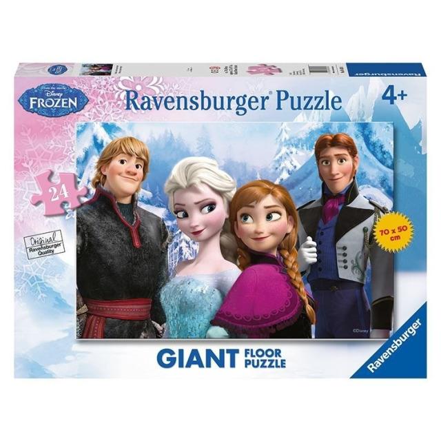 Obrázek produktu Puzzle Disney Ledové království 24d Podlahové, Ravesburger
