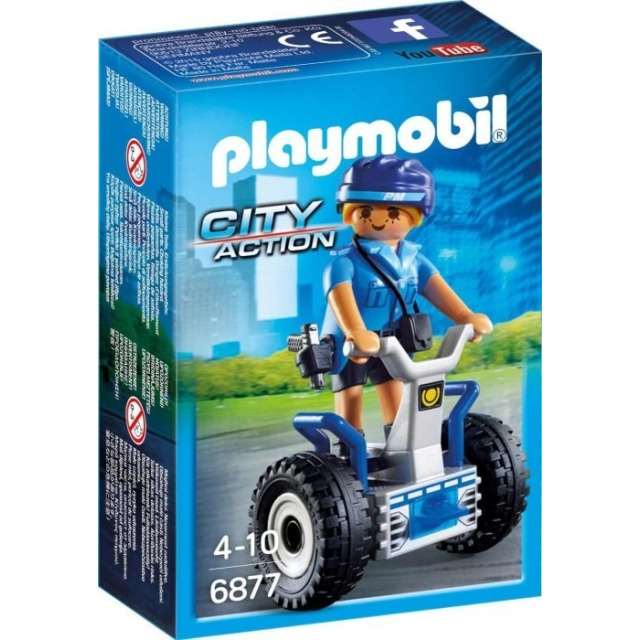Obrázek produktu Playmobil 6877 Policistka na segway