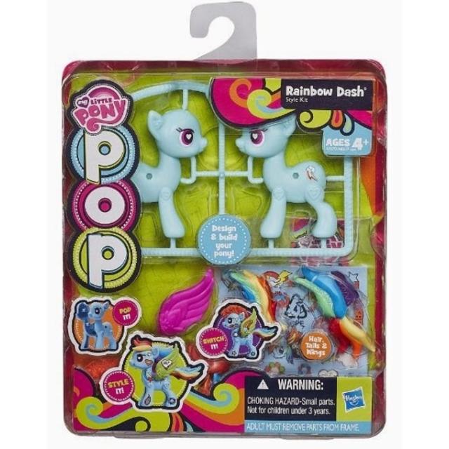 Obrázek produktu MLP My Little Pony Pop Deluxe poník s doplňky, Rainbow Dash