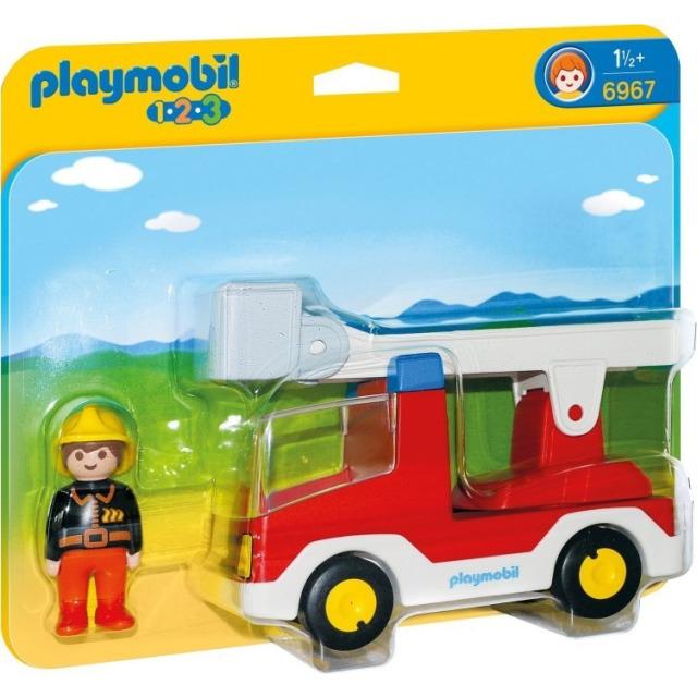 Obrázek produktu Playmobil 6967 Hasičské auto (1.2.3)