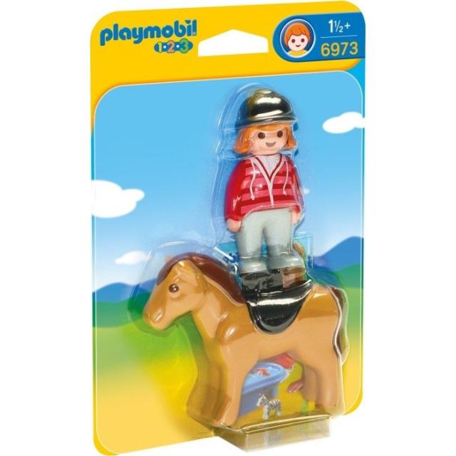 Obrázek produktu Playmobil 6973 Jezdkyně s koníkem (1.2.3)