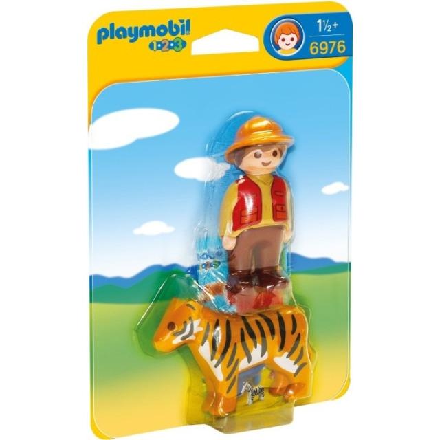 Obrázek produktu Playmobil 6976 Ošetřovatel s tygrem (1.2.3)