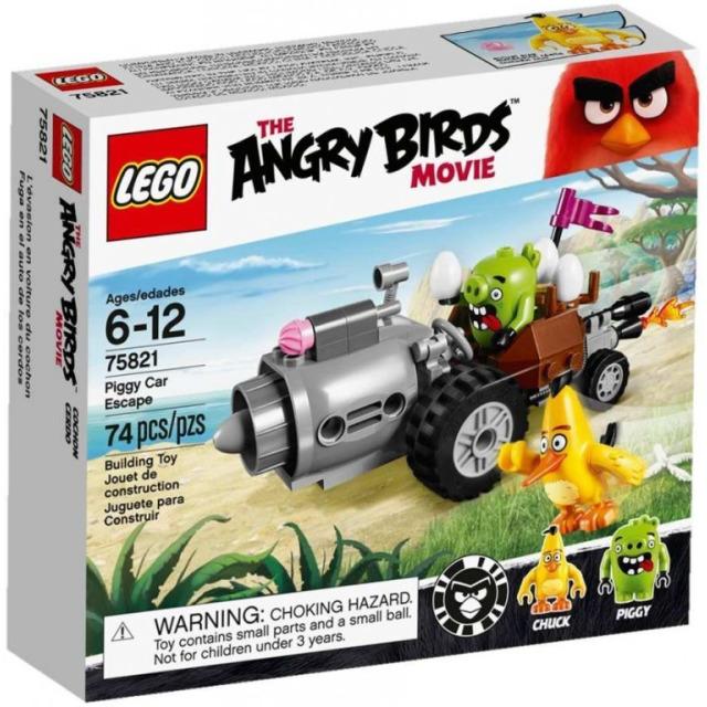 Obrázek produktu LEGO Angry Birds 75821 Piggyho útěk v autě