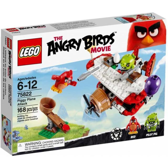Obrázek produktu LEGO Angry Birds 75822 Piggyho letadlový útok