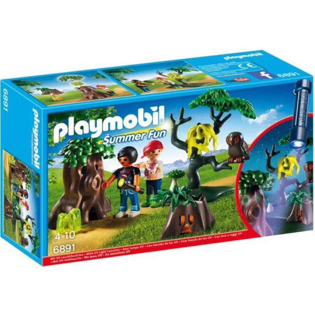 Obrázek produktu Playmobil 6891 Noční stezka odvahy s UV světlem