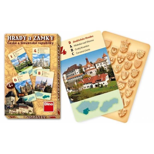 Obrázek produktu Karty Kvarteto Hrady a Zámky , Dino