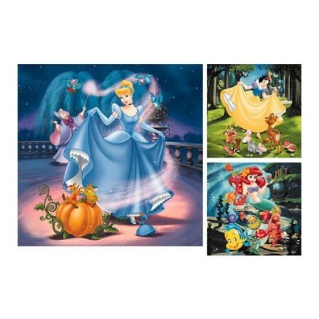 Obrázek produktu Ravensburger 09339 Puzzle Princezny 3x49 dílků