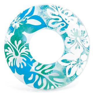 Obrázek 1 produktu Intex 59251 Kruh plovací Květiny 91cm modrý