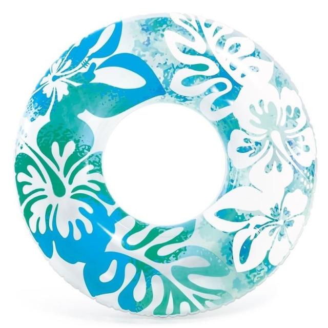 Obrázek produktu Intex 59251 Kruh plovací Květiny 91cm modrý