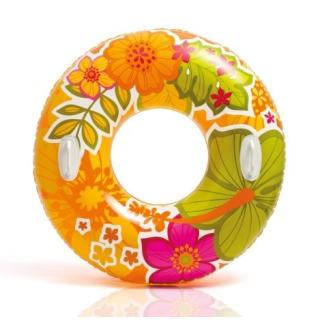 Obrázek 1 produktu Intex 58263 Nafukovací kruh 97cm Oranžový