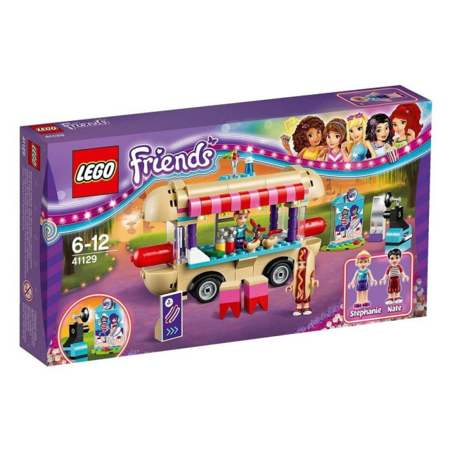 Obrázek produktu LEGO FRIENDS 41129 Stánek s Hot dogy v zábavním parku