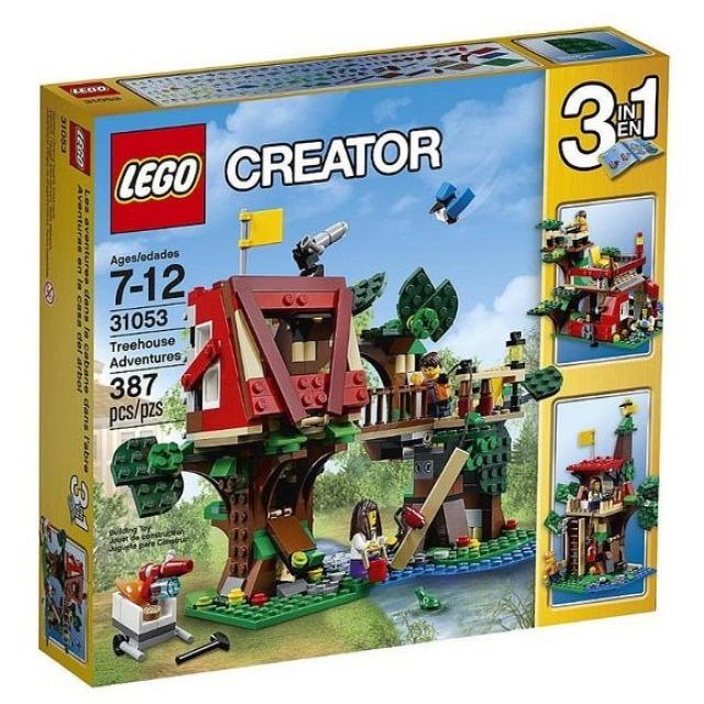 Obrázek produktu LEGO CREATOR 31053 Dobrodružství v domku na stromě