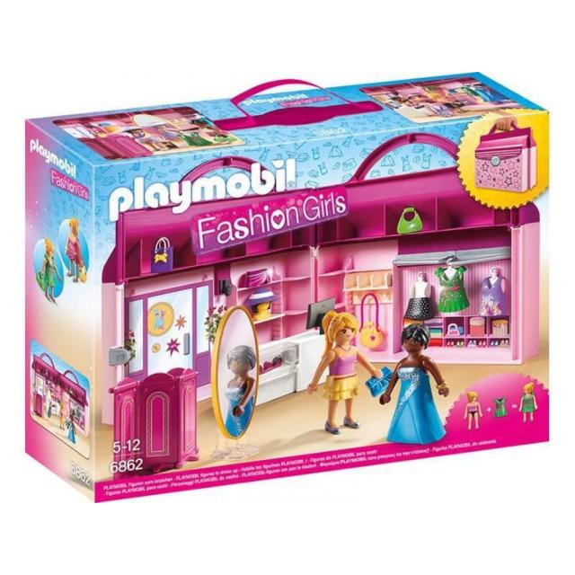 Obrázek produktu Playmobil 6862 Módní butik, přenosný kufřík
