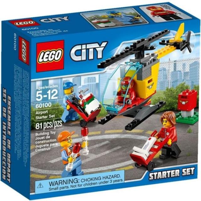 Obrázek produktu LEGO CITY 60100 Letiště – Startovací sada