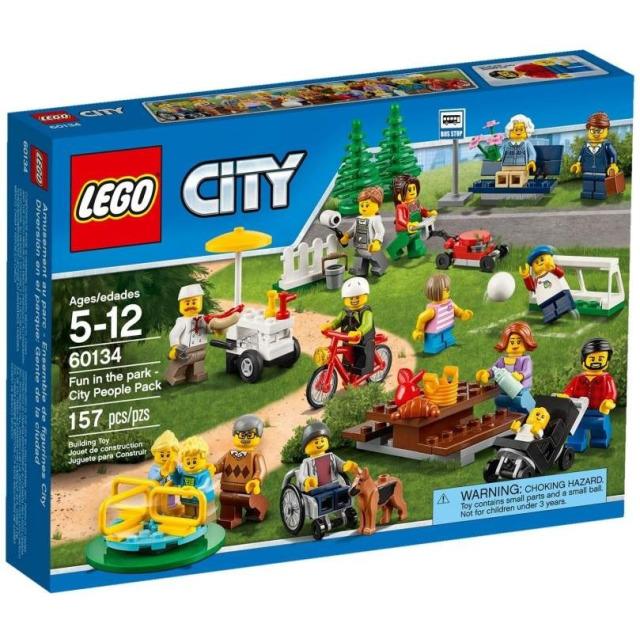 Obrázek produktu LEGO CITY 60134 Zábava v parku - lidé z města