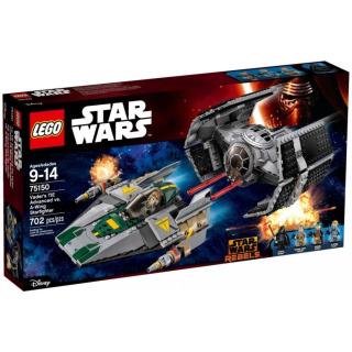 Obrázek 1 produktu LEGO Star Wars 75150 Vader's TIE Advanced vs. A-Wing Starfighter