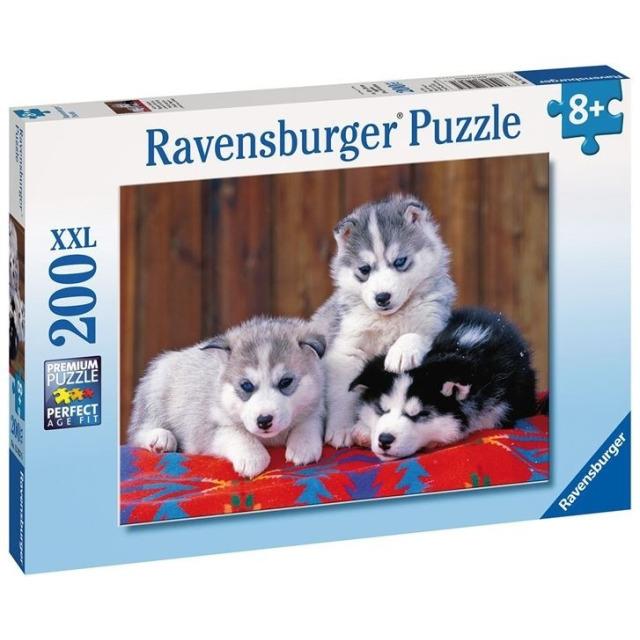 Obrázek produktu Ravensburger 12823 Puzzle Štěňata Husky 200 dílků