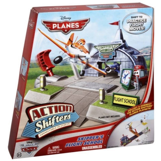 Obrázek produktu Planes Skipperova letecká škola, Mattel BFM39