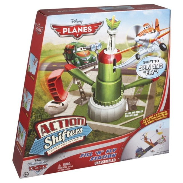 Obrázek produktu Planes Čerpací stanice, Mattel BFM40