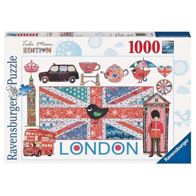 Obrázek produktu Puzzle Tula Moon London 1000d. Ravensburger